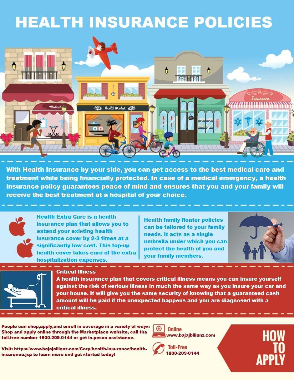 Bajaj Allianz offer health insurance plans that include
