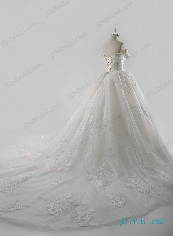 53755c2ab671a Royal stylish cinderella wedding princess ball gown dress   Ball ...