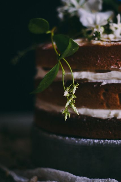 Orange Almond Cake with Orange Blossom Buttercream | Adventures in Cooking by Eva Kosmas Flores | Adventures in Cooking, via Flickr