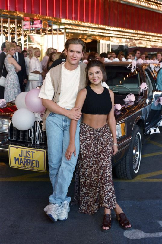 Saved By The Bell Wedding In Las Vegas 1994