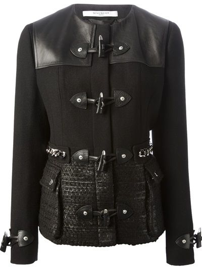GIVENCHY Toggle Fastening Jacket #farfetch