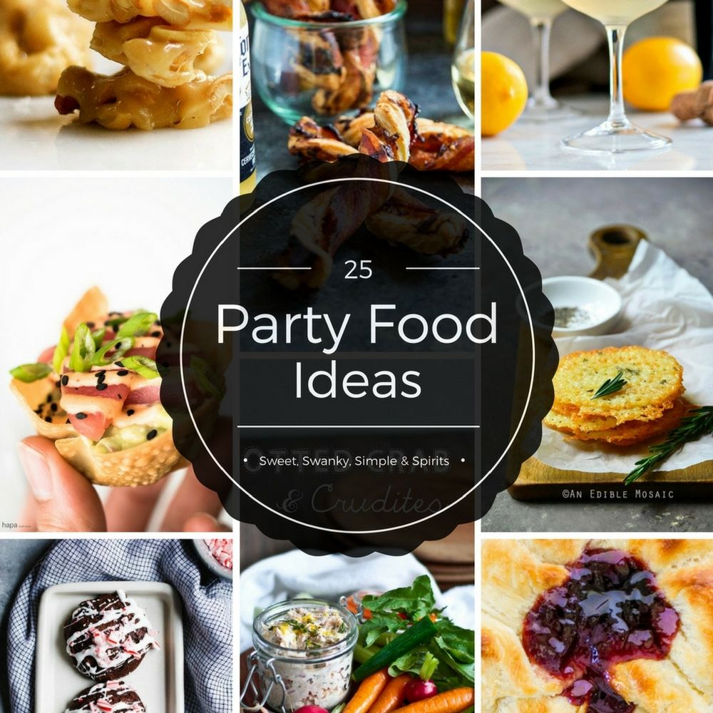 Food Ideas For Cocktail Party Part - 30: The Best Party Food Ideas | Appetizer Recipes | Cocktail Party Food Via  @pinchandswirl