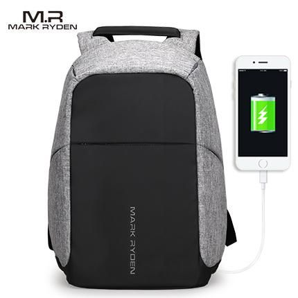 fb6d07660329 Mark Ryden ~ Tag Series Water Resistant Laptop Backpack ~ USB Charging Port  NEW