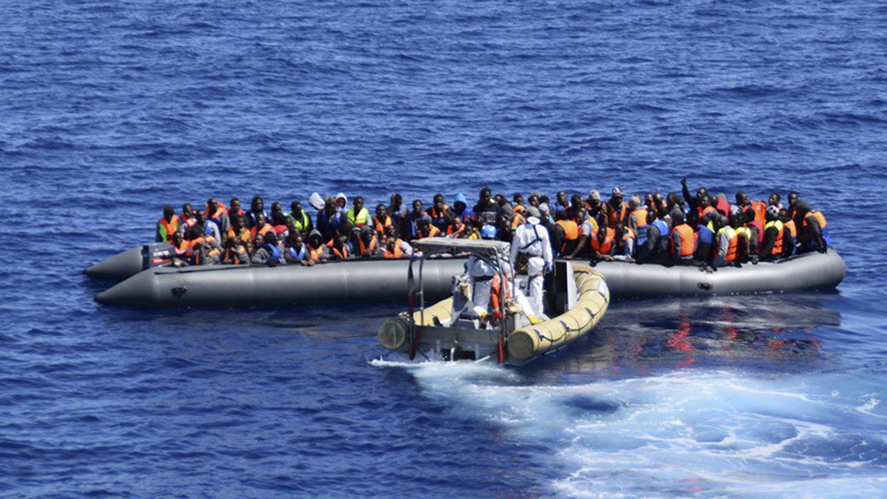 Italy says 6,000 migrants saved, 2 drowned since Thursday