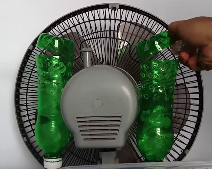 Turn A Plastic Bottle Into A DIY Air Conditioner Diy air