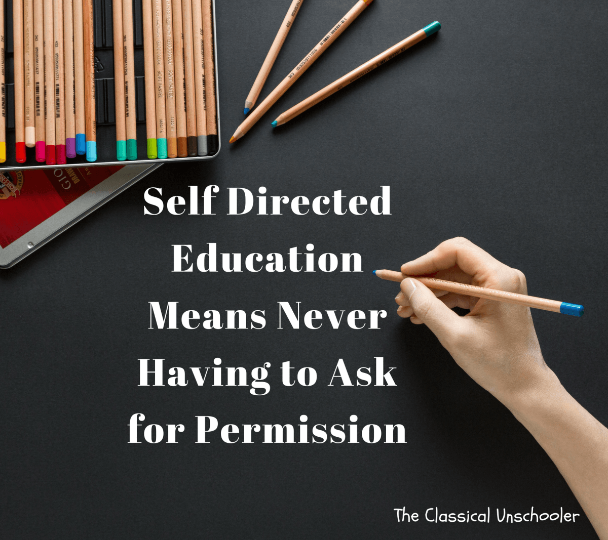 Self Directed Education Means Never Having To Ask For