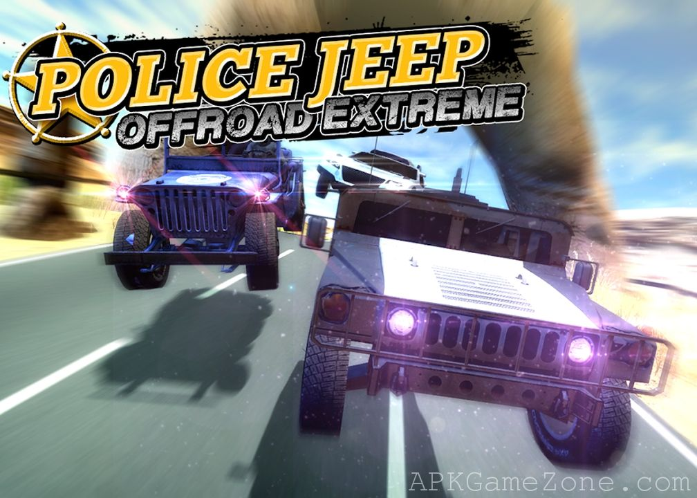 Police Jeep Offroad Extreme Money Mod Download Apk Jeep Police Offroad