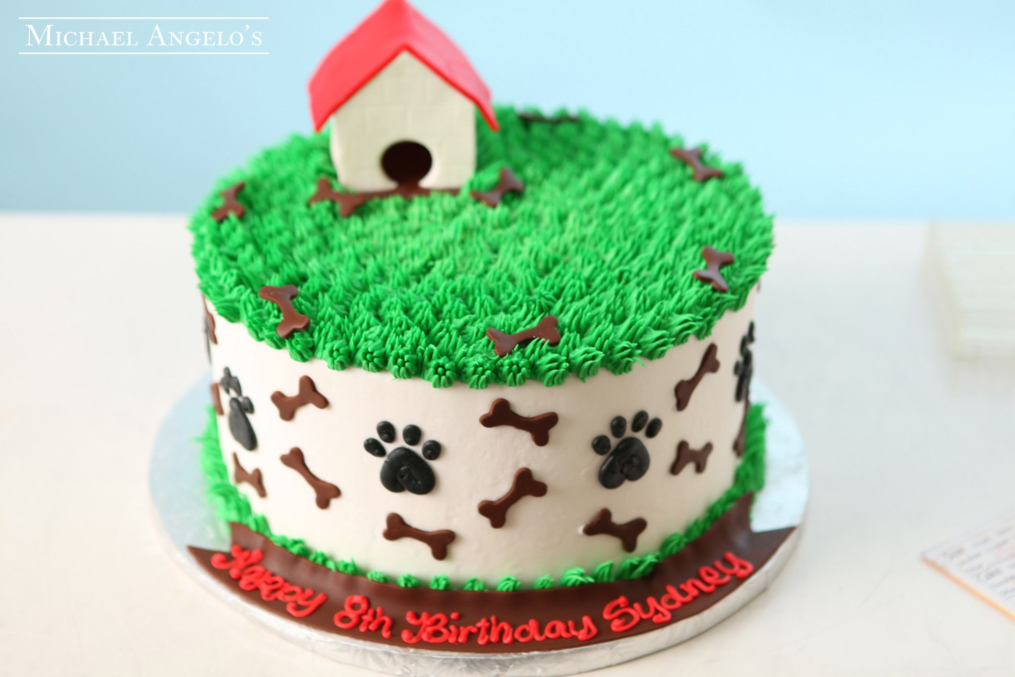 Dog House 6animals First Birthday Cakes Puppy Cupcakes House Cake