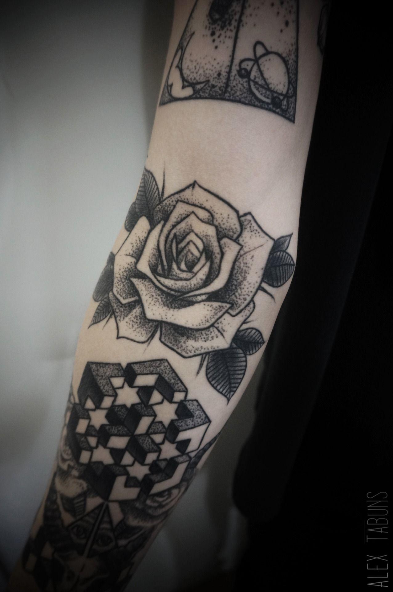 "alex-tabuns: ""healed "" rose"