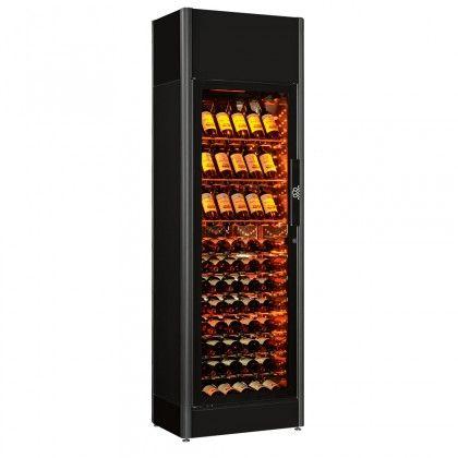 Cave A Vin 1 Temperature Grand Modele 1 Porte Serie 9000 Wine Cabinets Wine Wine Bar Design