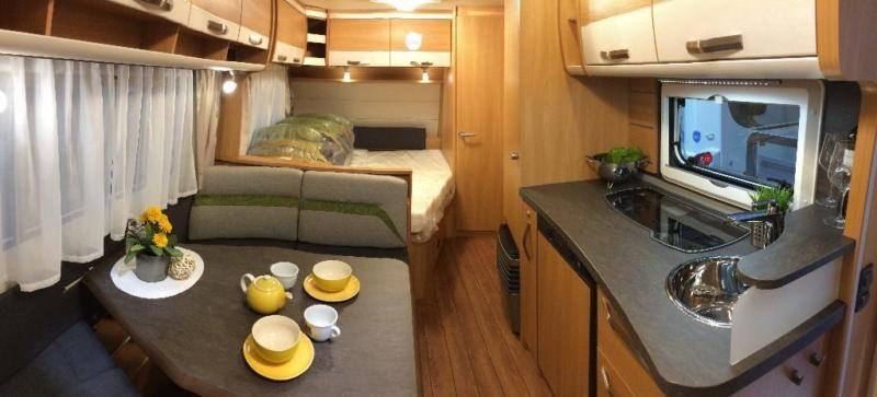 Unser ZUGVOGEL ist ein Caravan für die ganze Familie, bietet Platz für bis zu 6 Personen und kann...,Wohnwagen zur Vermietung, KNAUS SÜDWIND, Baujahr 2017 in Nordrhein-Westfalen - Höxter