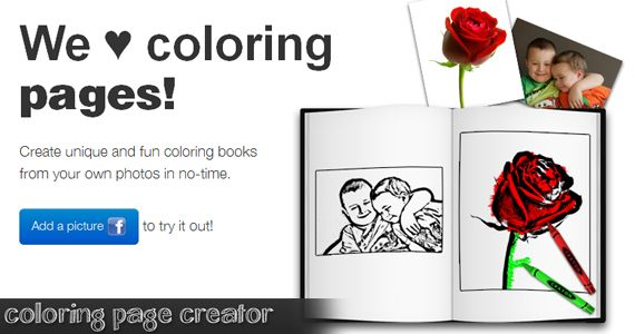 Free Coloring Page Creator | Giveaways!! | Pinterest