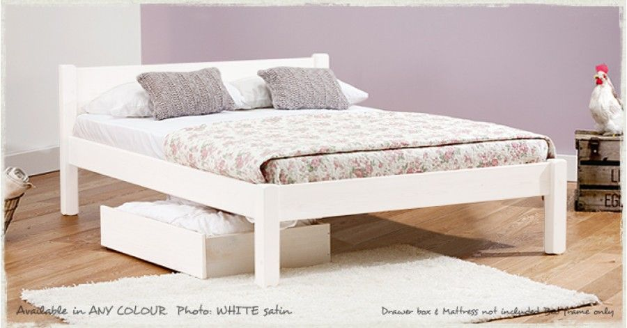 Best White Knight Bed White Wooden Bed Wooden Bed Frames 400 x 300