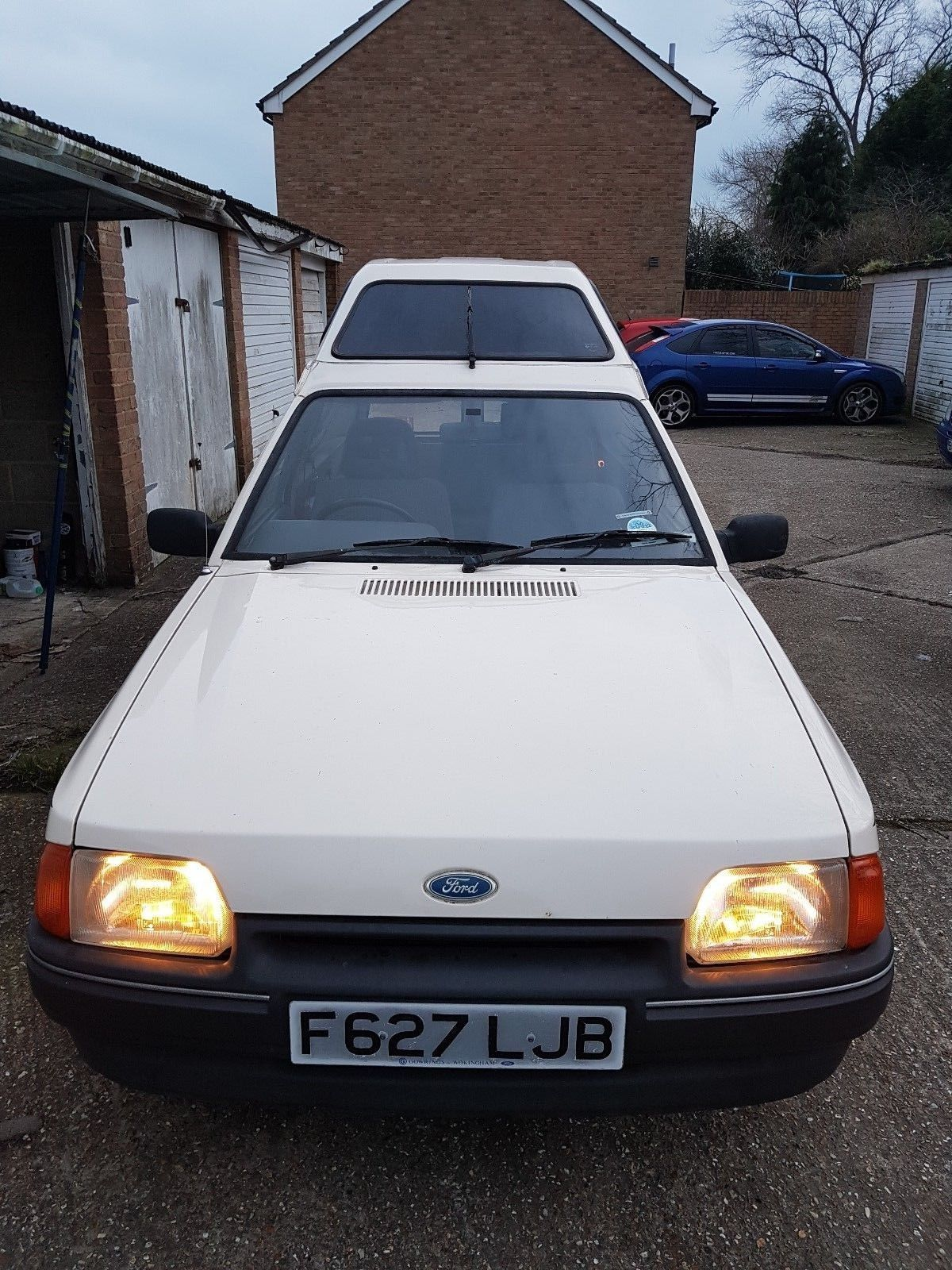 Looking For A Ford Escort Van Mk4 1988 This One Is On EBay