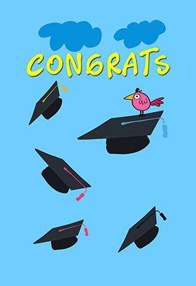 Congratulations Graduate Congratulations Card Free Greetings Island Congratulations Graduate Graduation Card Templates Graduation Cards