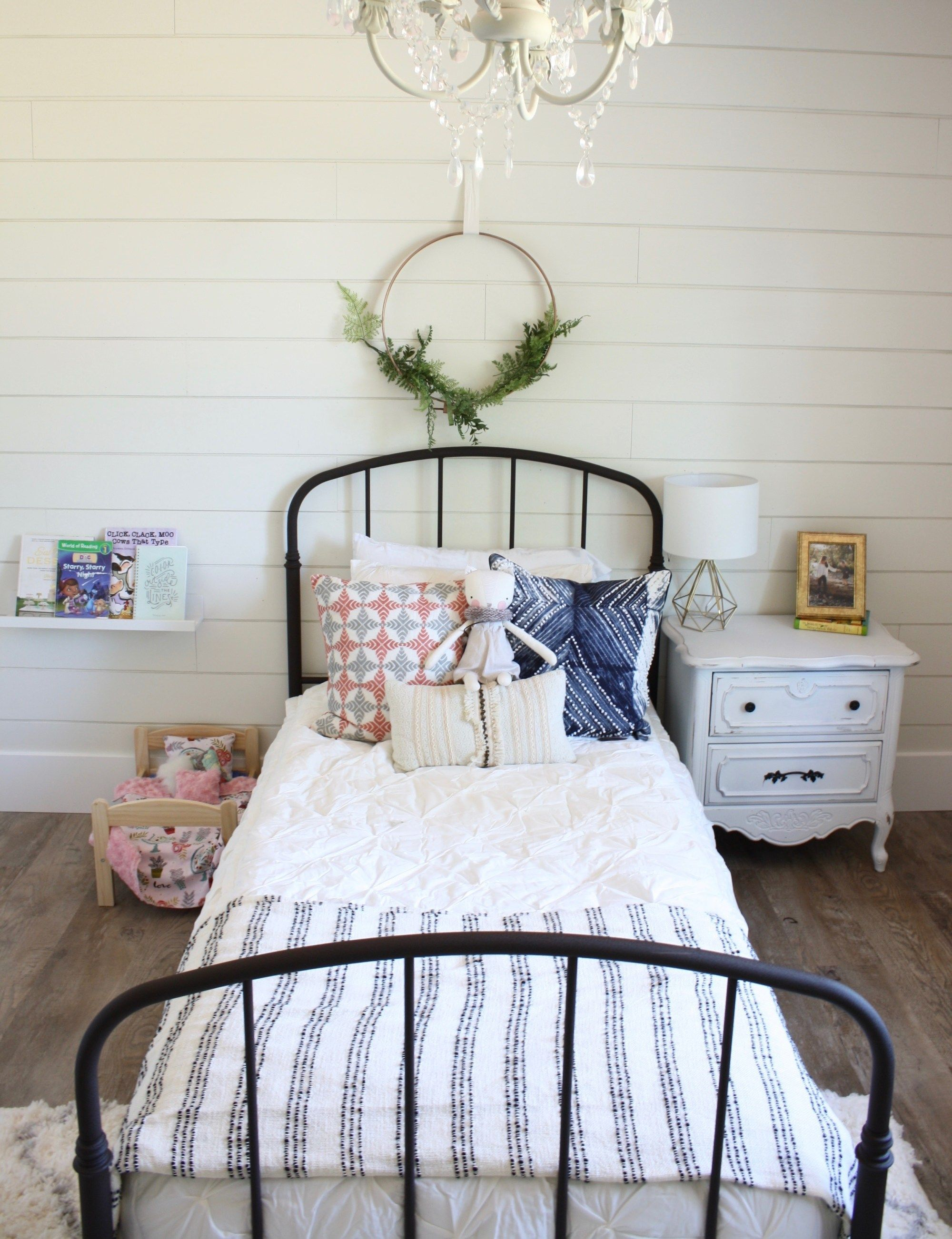 Best Boho Farmhouse Big Girl Room Super Cute Big Girl Room 640 x 480