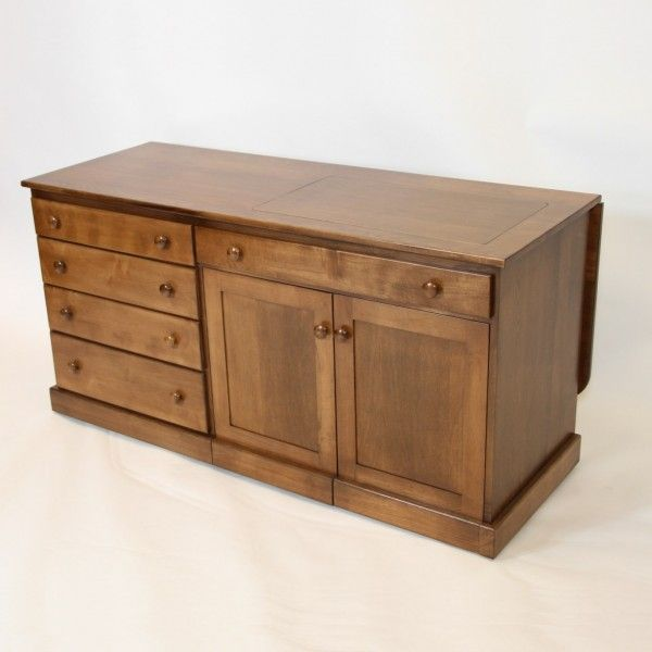 Quilters Delight Sewing Cabinet Wood Sewing Cabinet