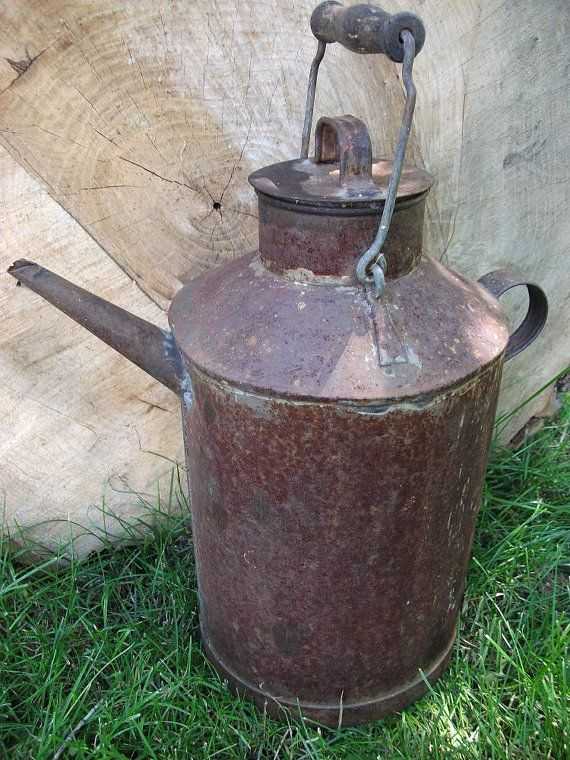 Vintage Oil Can / Watering Can | Vintage | Vintage oil cans