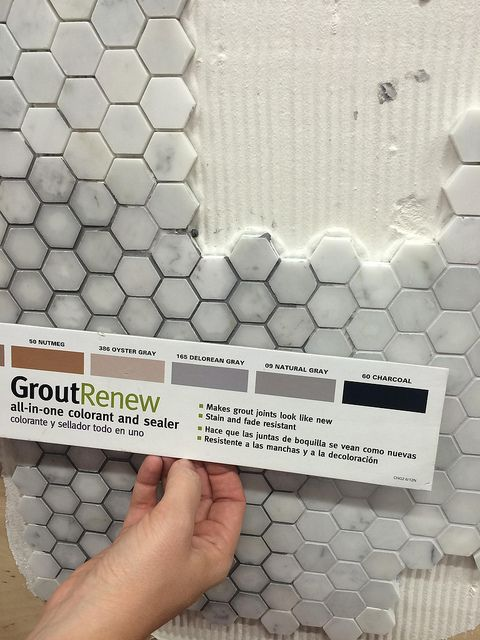 Grout Renew Delorean Gray Miscellaneous Pinterest