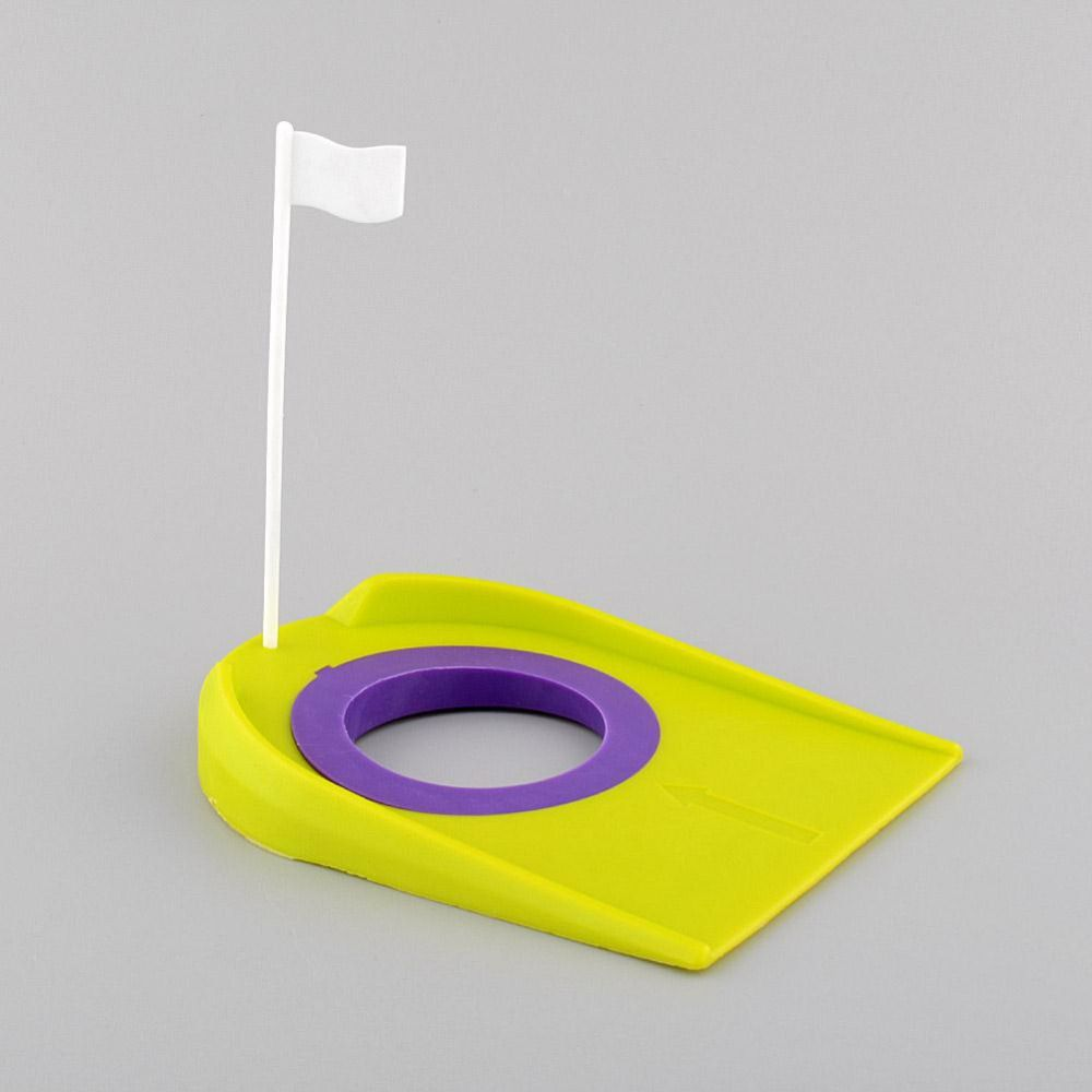 golf putting green regulation cup hole flag indoor home backyard