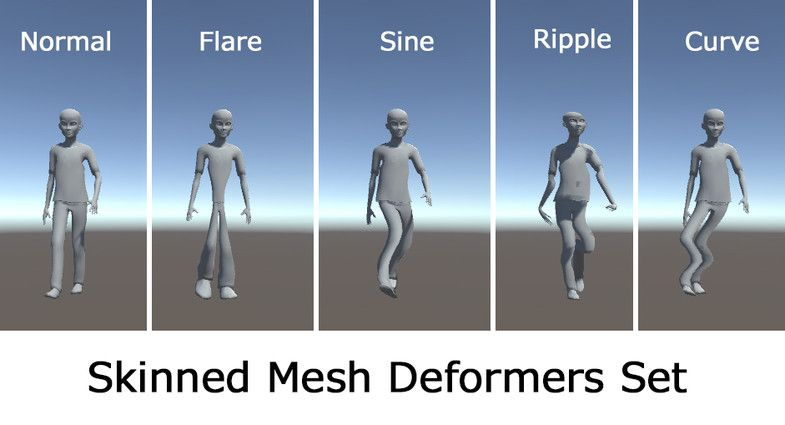 Mesh and Object Deformers for Unity 3D #Deformers#Object#Mesh