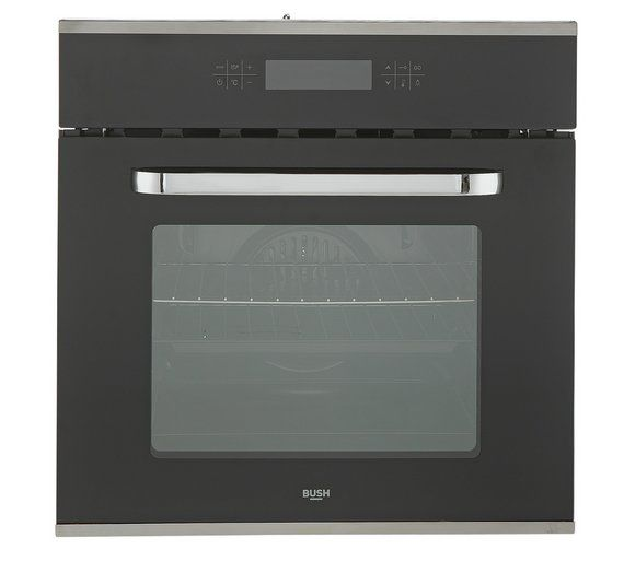 Buy Bush BSOFTC Touch Control Built In Oven - Stainless Steel at ...