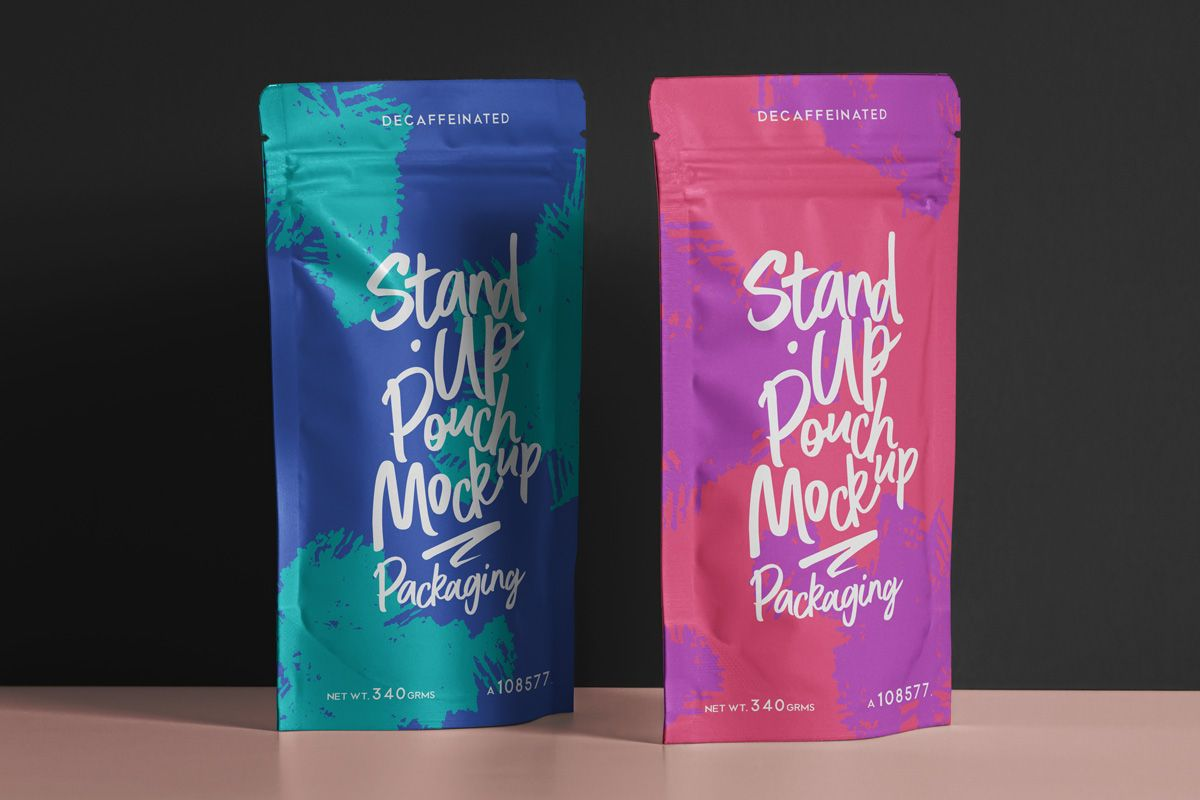 Download Free Pouch Packaging Mockup Psd Pouch Packaging Packaging Mockup Packaging