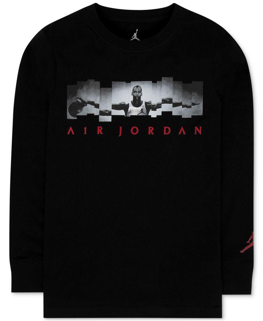 eab85cab0c85 Michael Jordan Long Sleeve Shirts