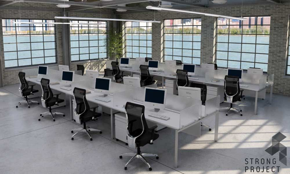 Modern Office Design Ideas View Furniture Concepts With This Streamlined Business Visualization Tool