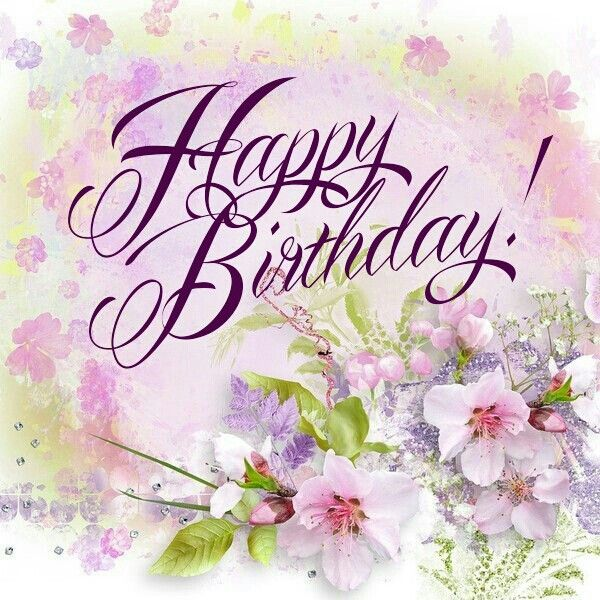 Birthday Flowers Images With Quotes: HAPPY BIRTHDAY Greetings