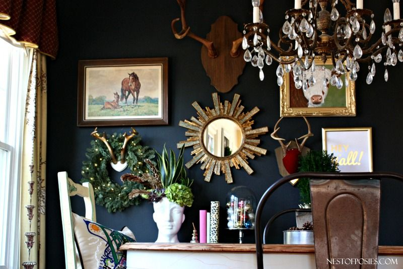 My Eclectic Black Gallery Wall MayBelle
