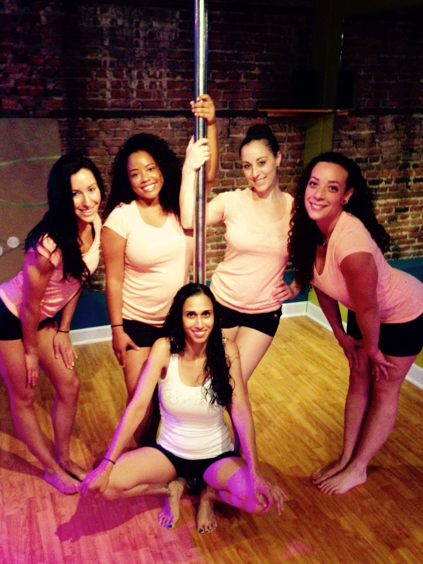 Mother continued POLE DANCING 37 weeks into her pregnancy