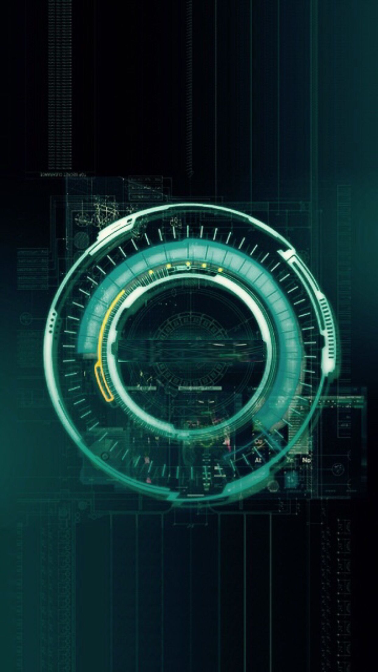 Jarvis: Age of Ultron cellphone wallpaper. It's a simple ...