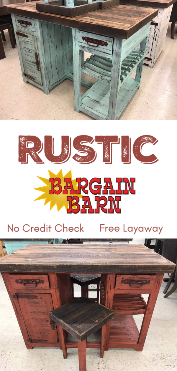 Huge selection of rustic furniture to spruce up your ...