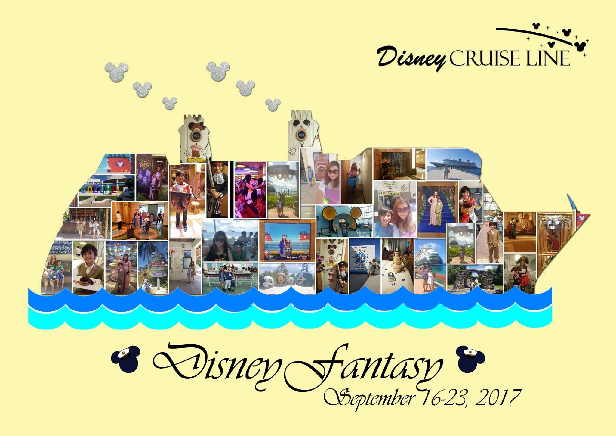 Disney Cruise Line Digital Photo Collage Fine Art Wall Art Home ...