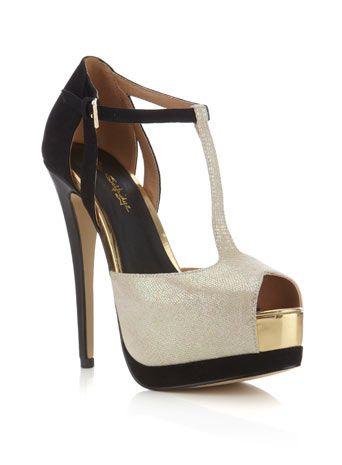 Miss SelfridgeHONEY - High heeled sandals - black uTub5WrFuF