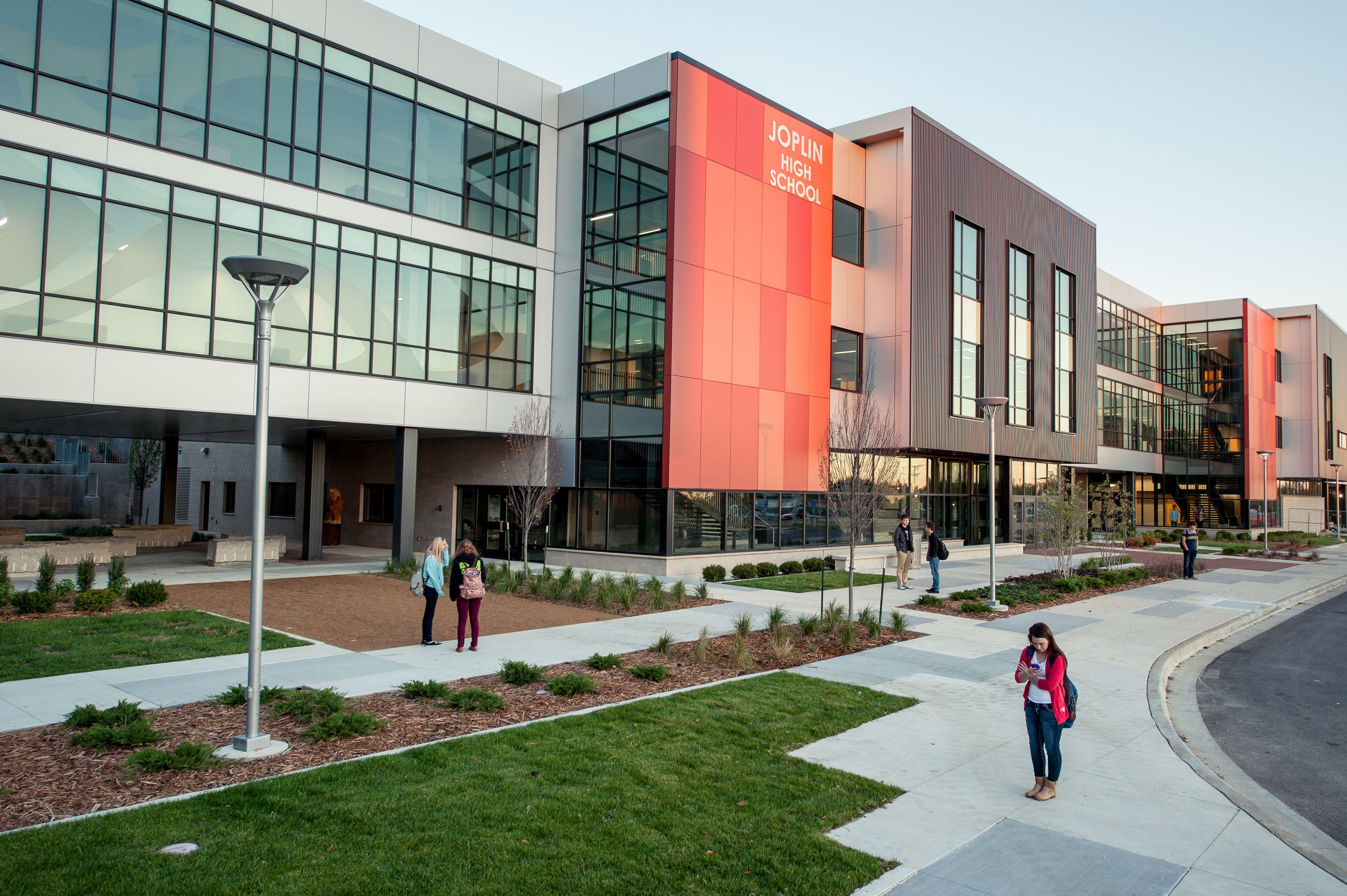 Joplin High School  Cga Architects Of Joplin, Missouri And