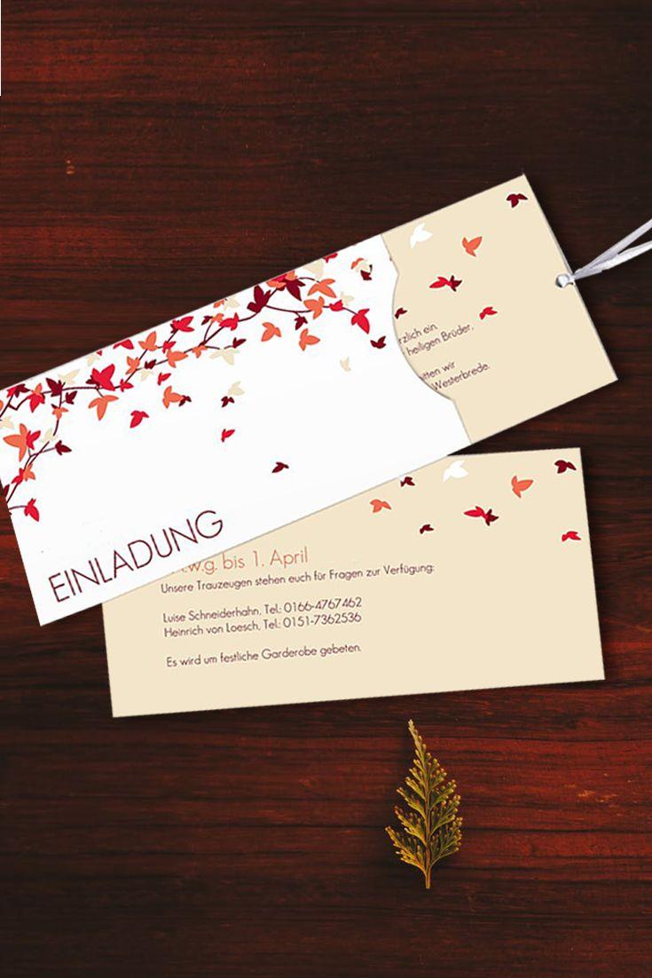 Hochzeitseinladung um festliche kleidung wird gebeten