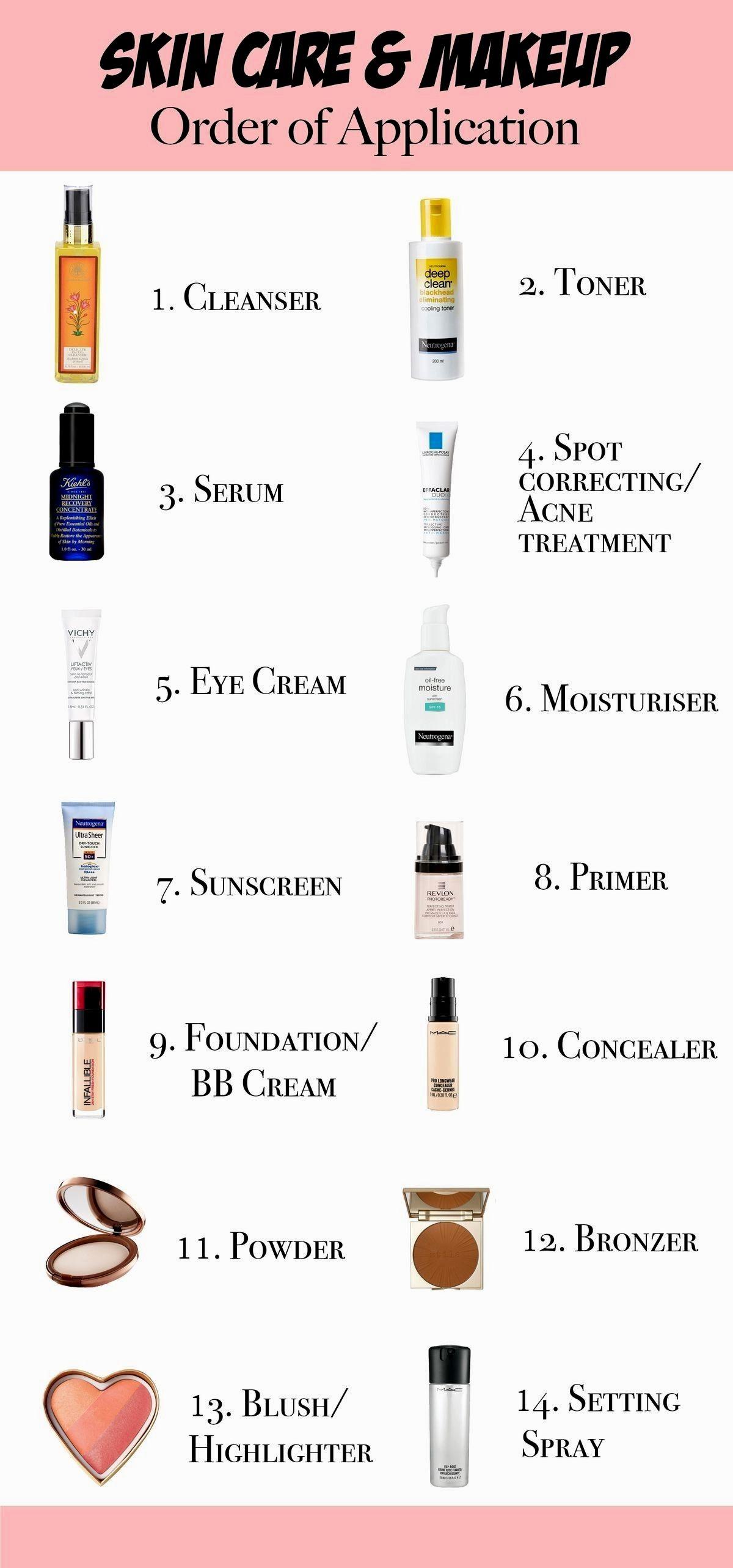 dyi skin care Makeup order, Skin care order, Skin care