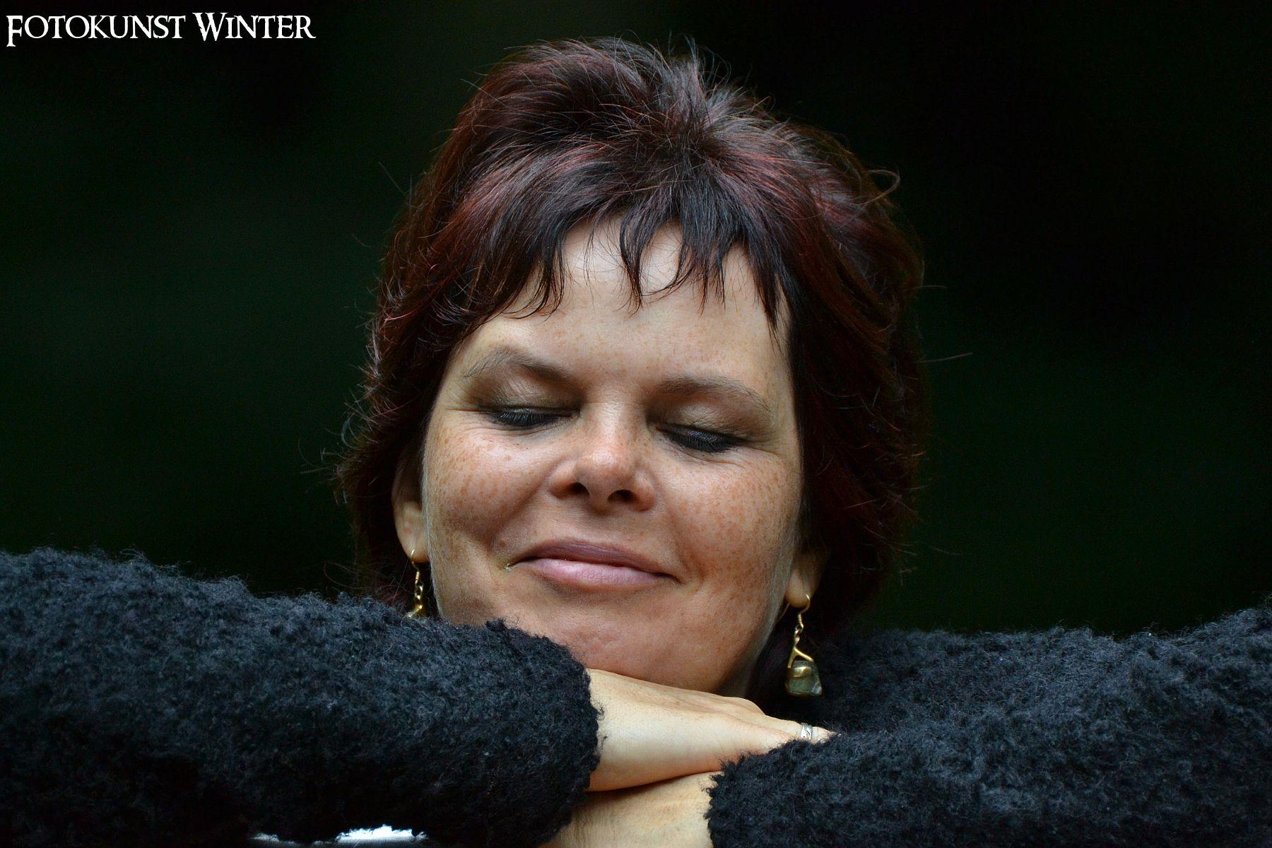 "#Porträtfotografie | Modell: ""Susanne"" | Copyright 2014 © by Fotokunst Winter | www.fotokunst-winter.de"