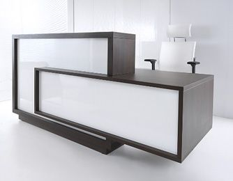 Charmant Modern And Official Reception Desk Portraying An Organised And Professional  Feel To Your Company. Www