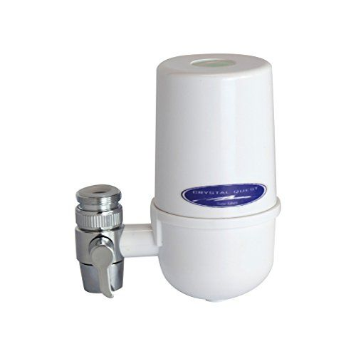 Crystal Quest White Faucet Mount Water Filter Provides 2000 Gallons 5 Stages Click Image To Review More Details Faucet Water Filters System Faucet Mount