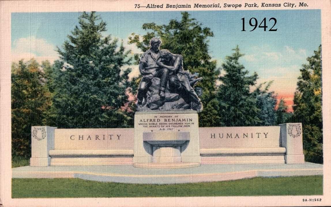 ALFRED BENJAMIN MEMORIAL, SWOPE PARK, KANSAS CITY