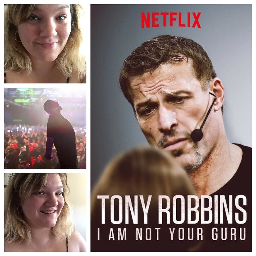 """In """"I Am Not Your Guru"""" Tony Robbins talks about his"""