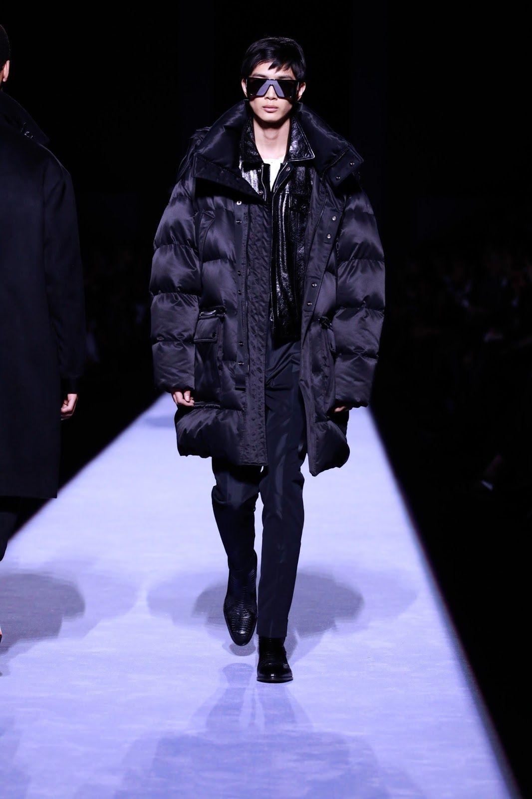 a7a3b68b2c9 Tom Ford Menswear Fall Winter 2018 2019