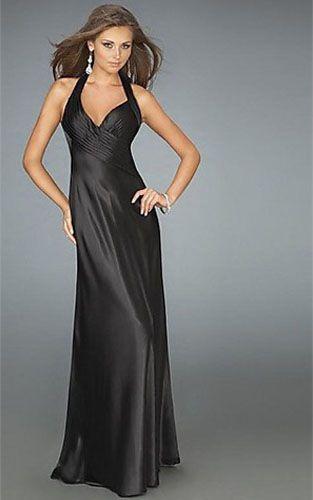 Images of Cheap Black Formal Dresses - Reikian