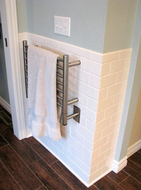 Towel warmers are an added touch of luxury that no modern ...