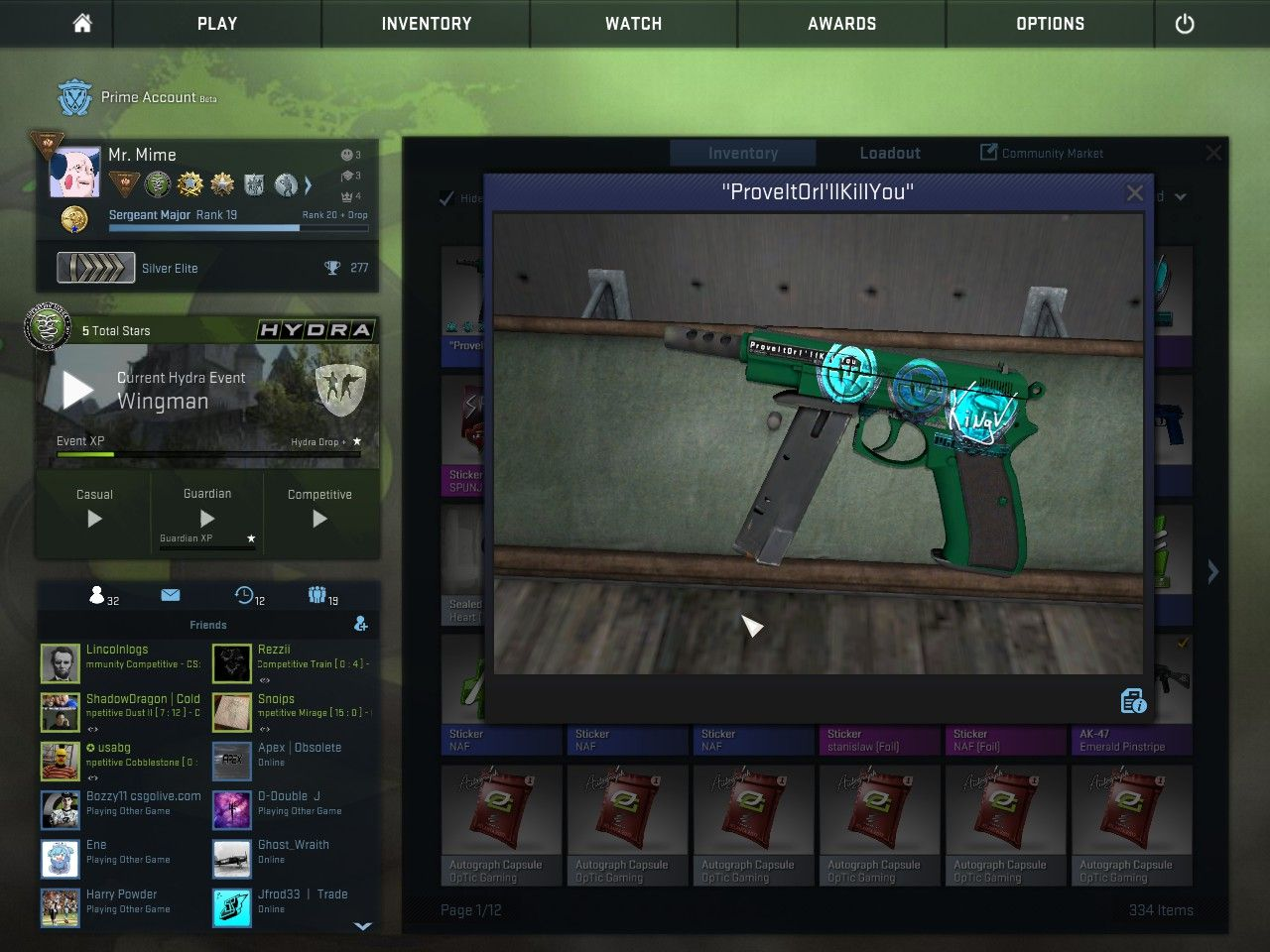 Can i put Reddit memes on a gun? #games #globaloffensive