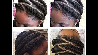 Download Video Ghana Braid Style Feat Iamdatnaturalkid Natural Hair Styles Cornrows Natural Hair Hair Styles