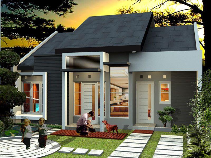 Dekorasi dan desain rumah minimalis type 45 contoh model for Dekorasi rumah minimalis